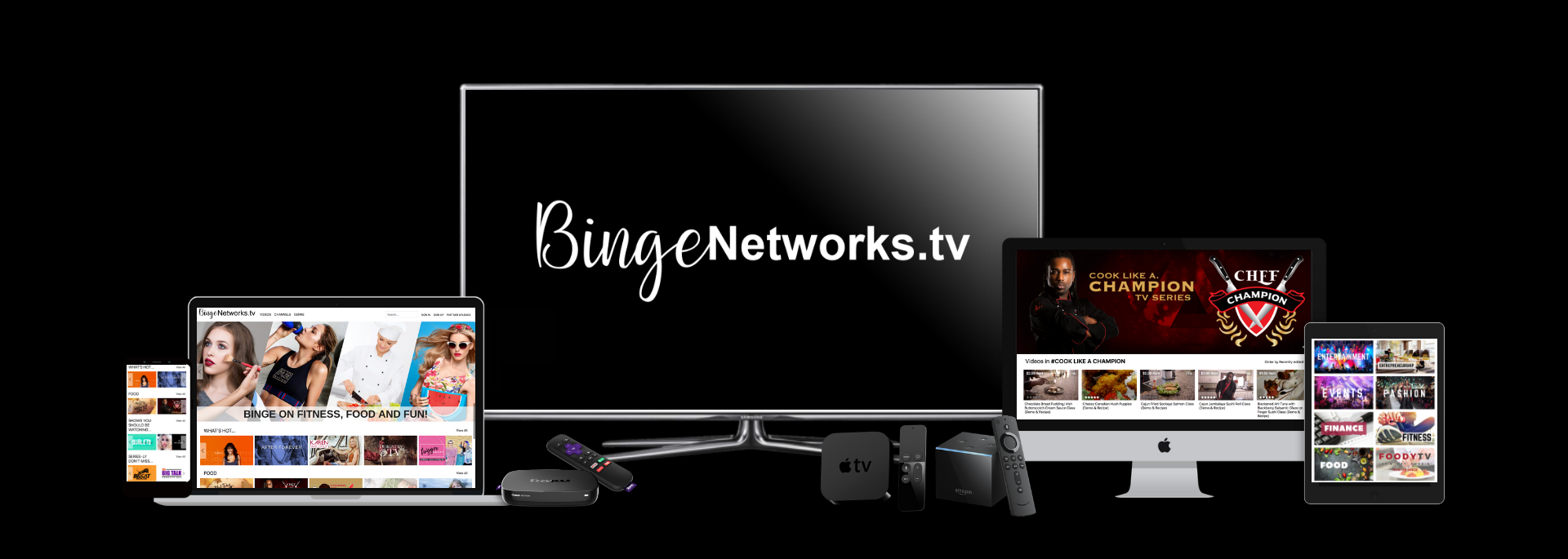 Video Content Distribution on over 50 Smart TVs Globally
